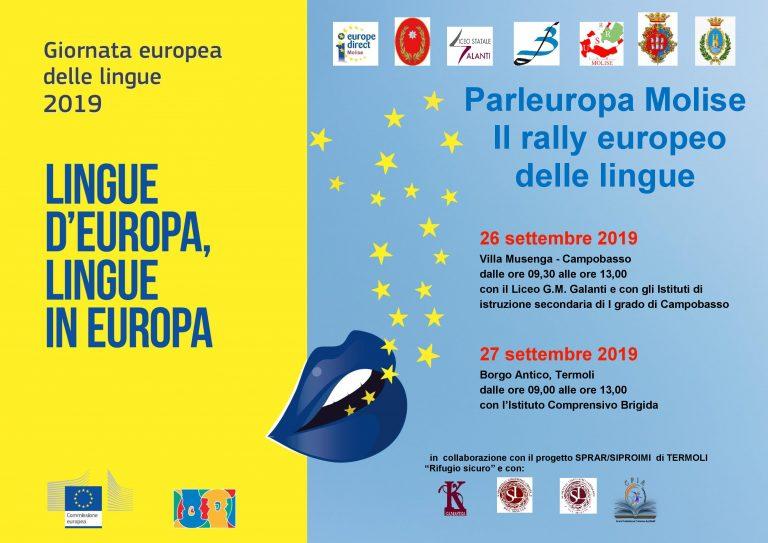I.C. BRIGIDA nel Parleuropa Molise 2019 – il rally delle lingue nella giornata del Friday for Future