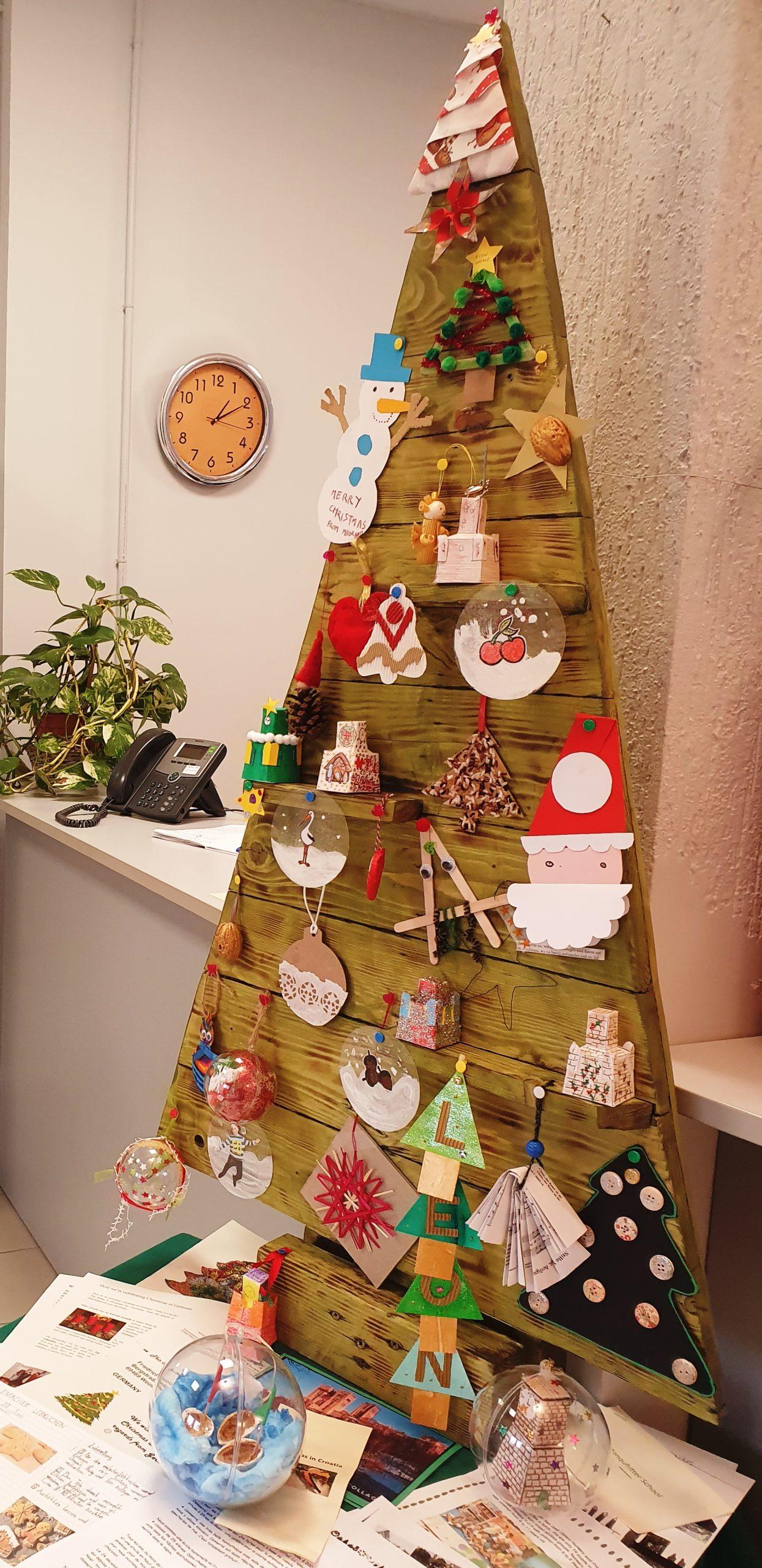 European Christmas Tree Decoration Exchange