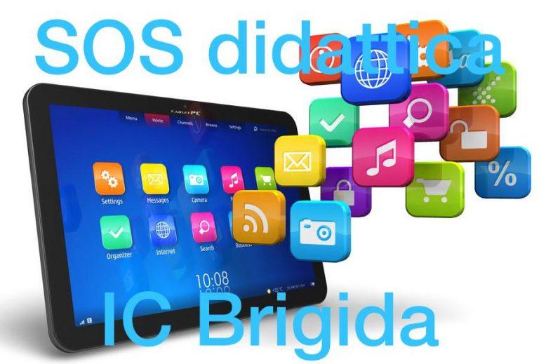 AVVISO : SOS DIDATTICA IC BRIGIDA