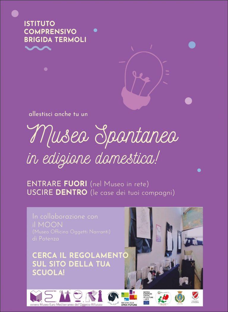 MUSEO SPONTANEO: ENTRARE FUORI….USCIRE DENTRO