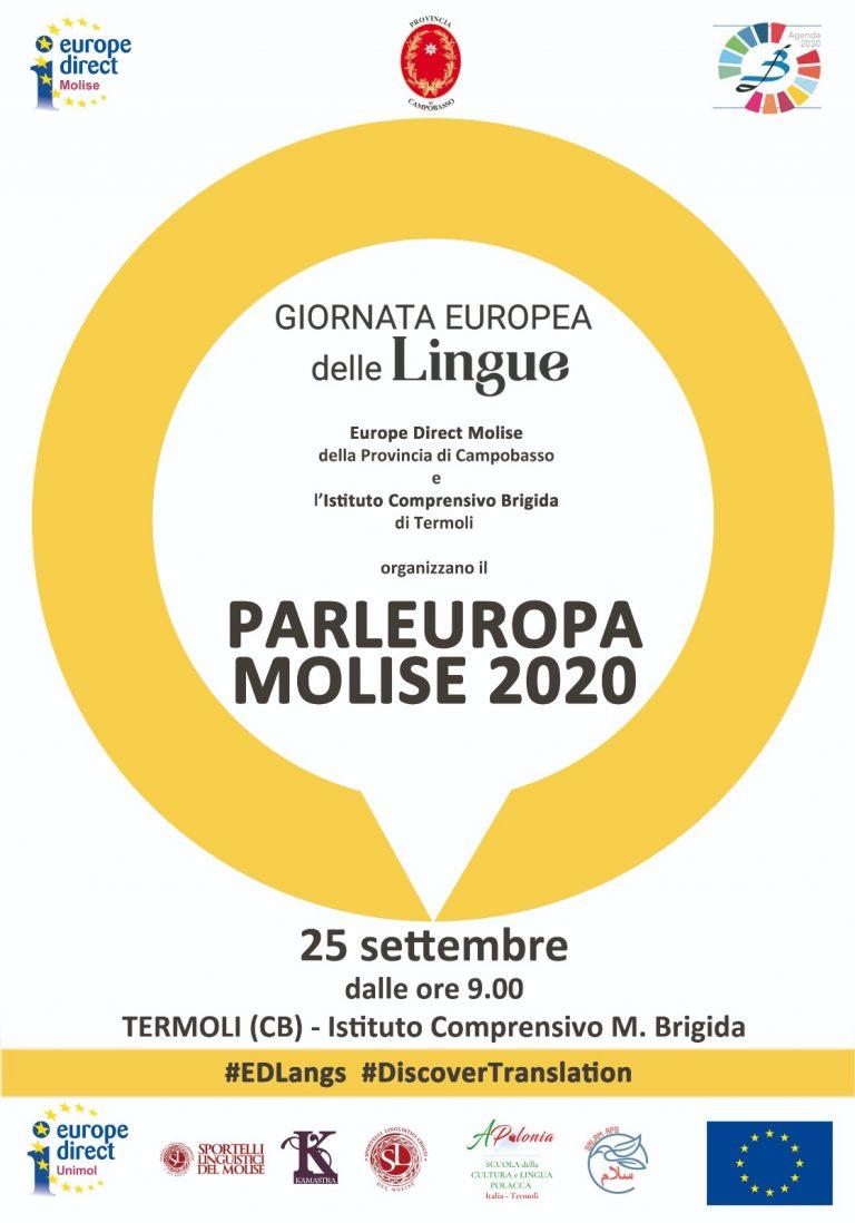 Parleuropa  Molise 2020 – 25 settembre Istituto Comprensivo M. Brigida
