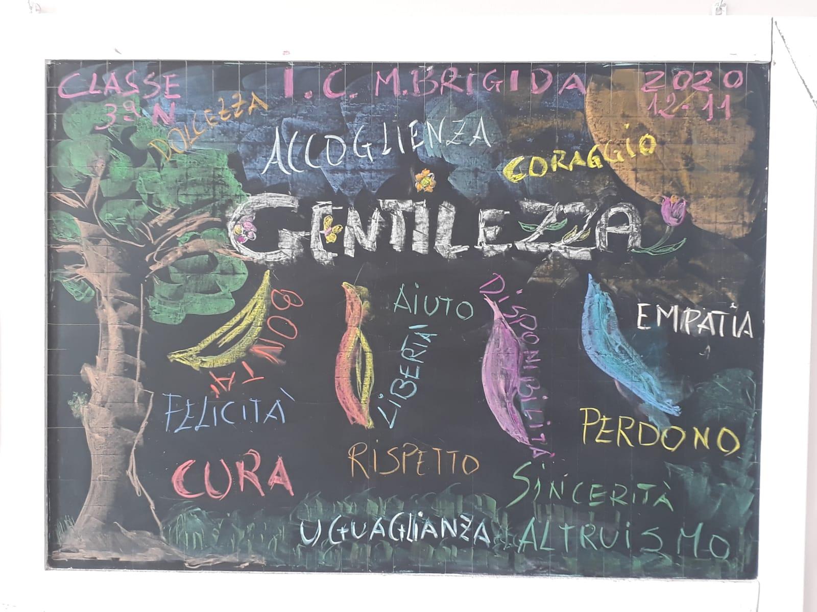 GIORNATA DELLA GENTILLEZZA CLASSE  3N
