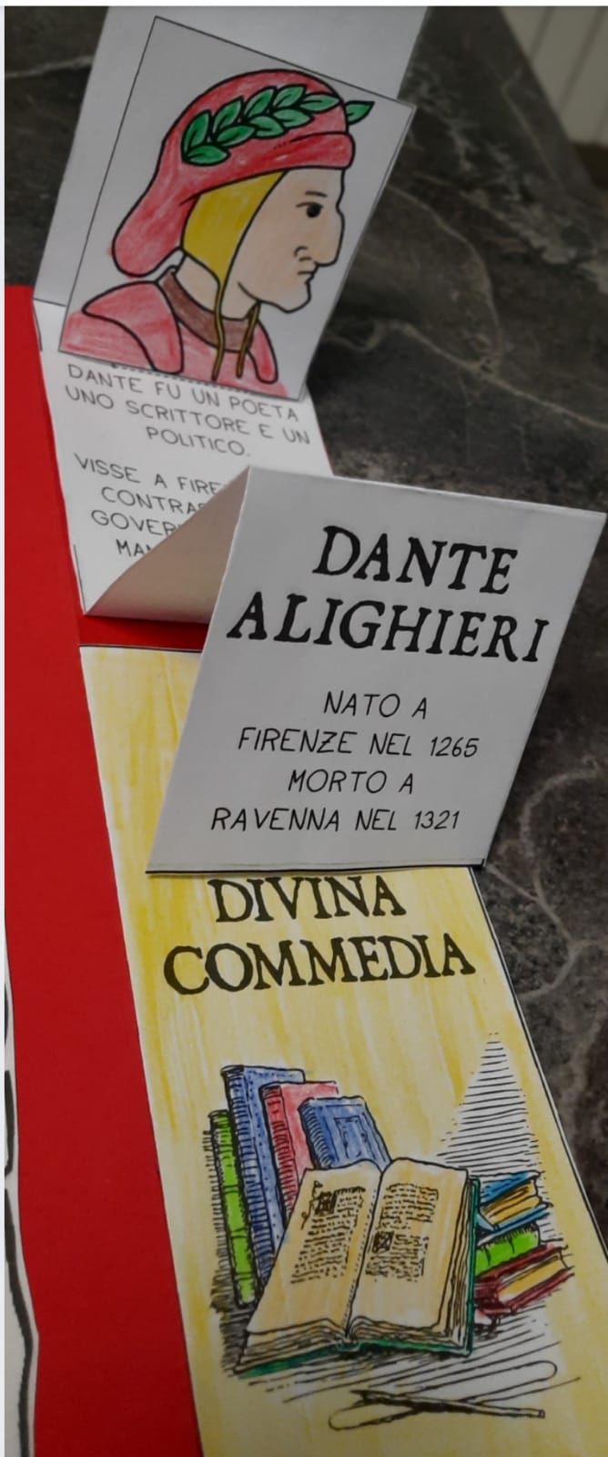 """La """"Divina Commedia"""" attraverso gli occhi dei bambini della Scuola Primaria"""