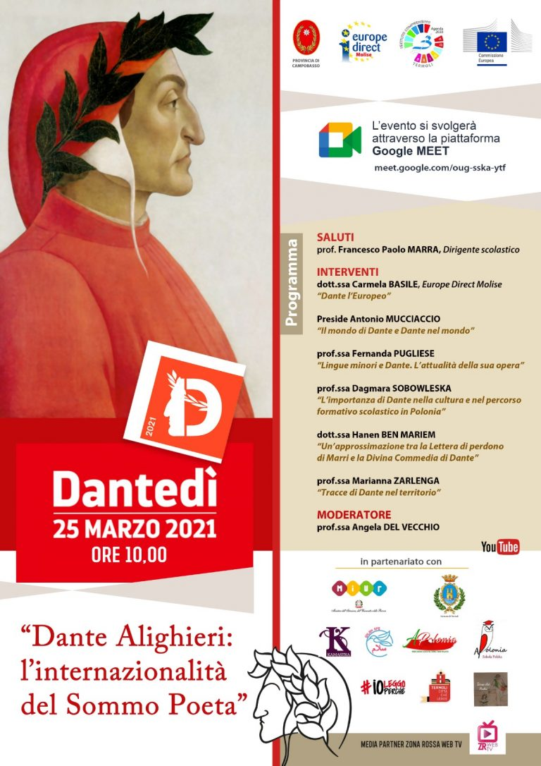 """""""Dante Alighieri: l'internazionalità del Sommo Poeta"""""""