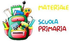 MATERIALE CLASSI PRIME SCUOLA PRIMARIA